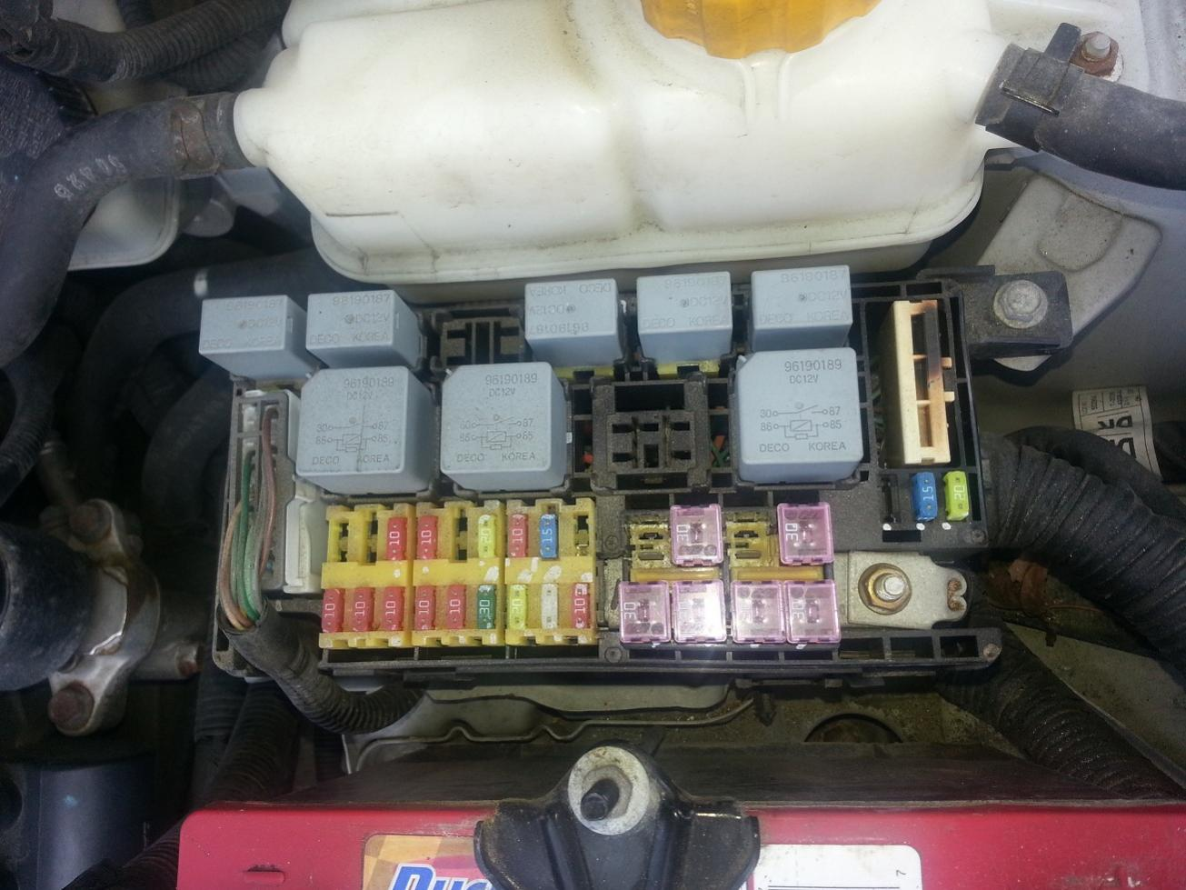 Chevy Aveo Fuse Box Splicer Books Of Wiring Diagram \u2022 Dodge Dakota Fuse  Box Chevy Aveo Fuse Box Splicer