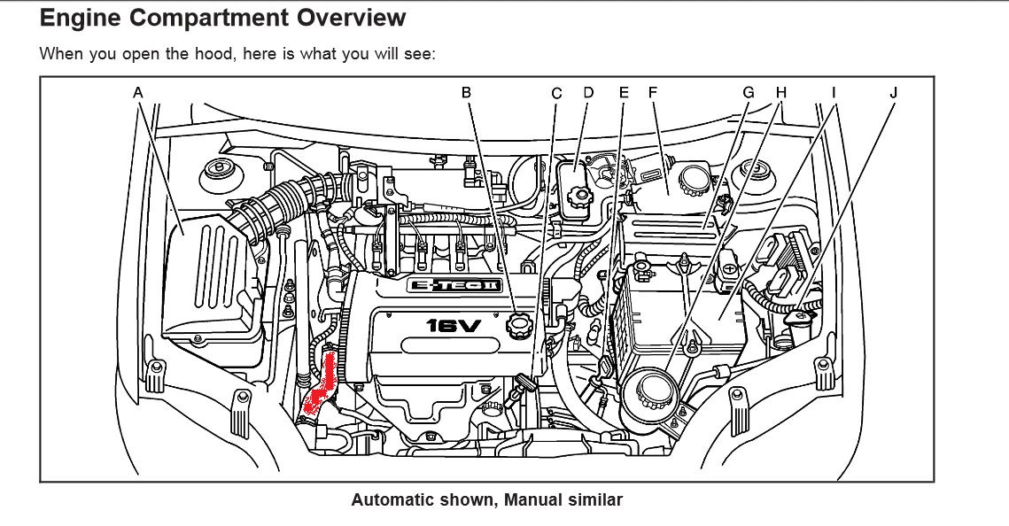 2009 Aveo Engine Diagram