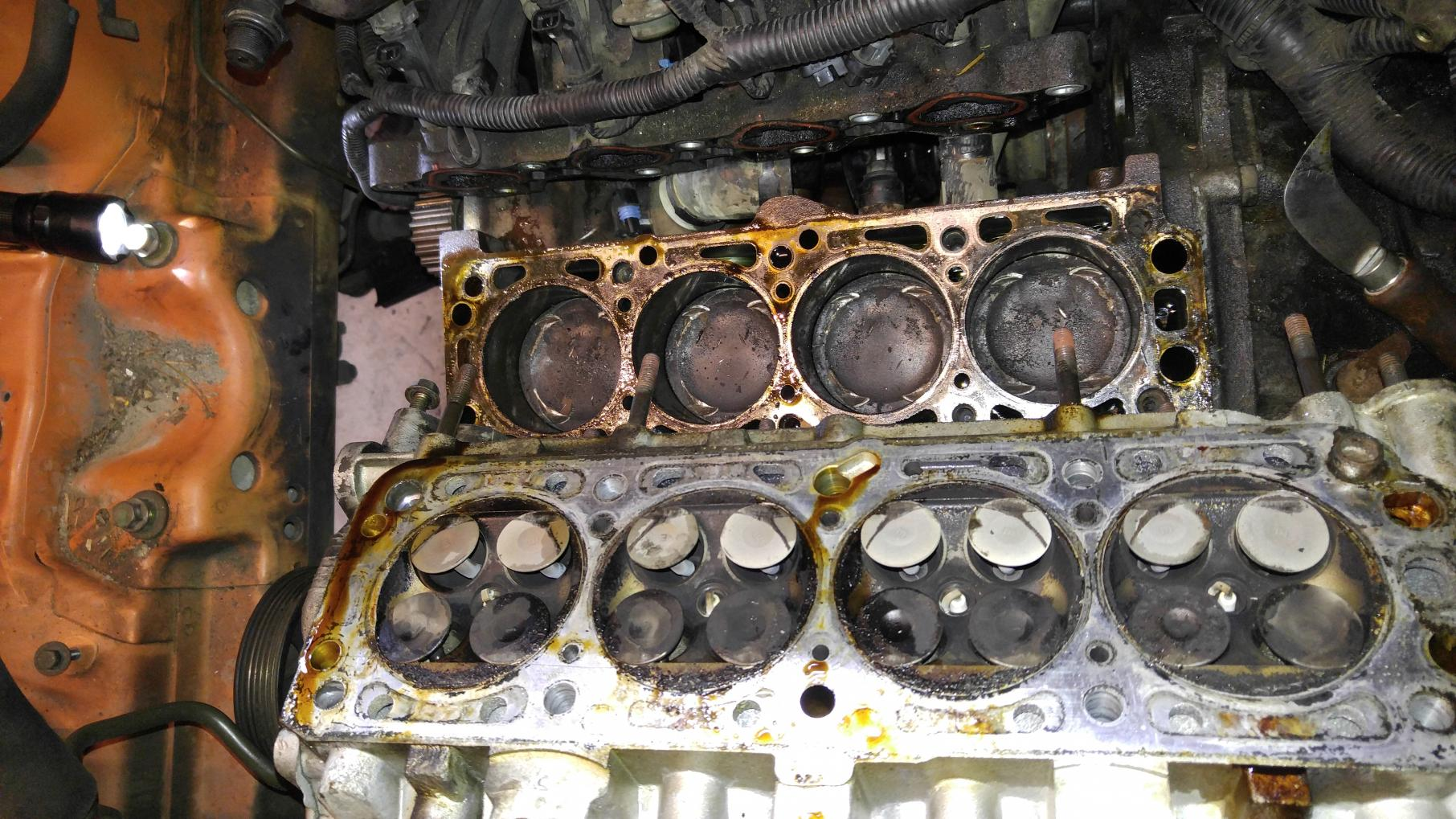 2004 Chevy Aveo Timing Belt/ Engine Seize