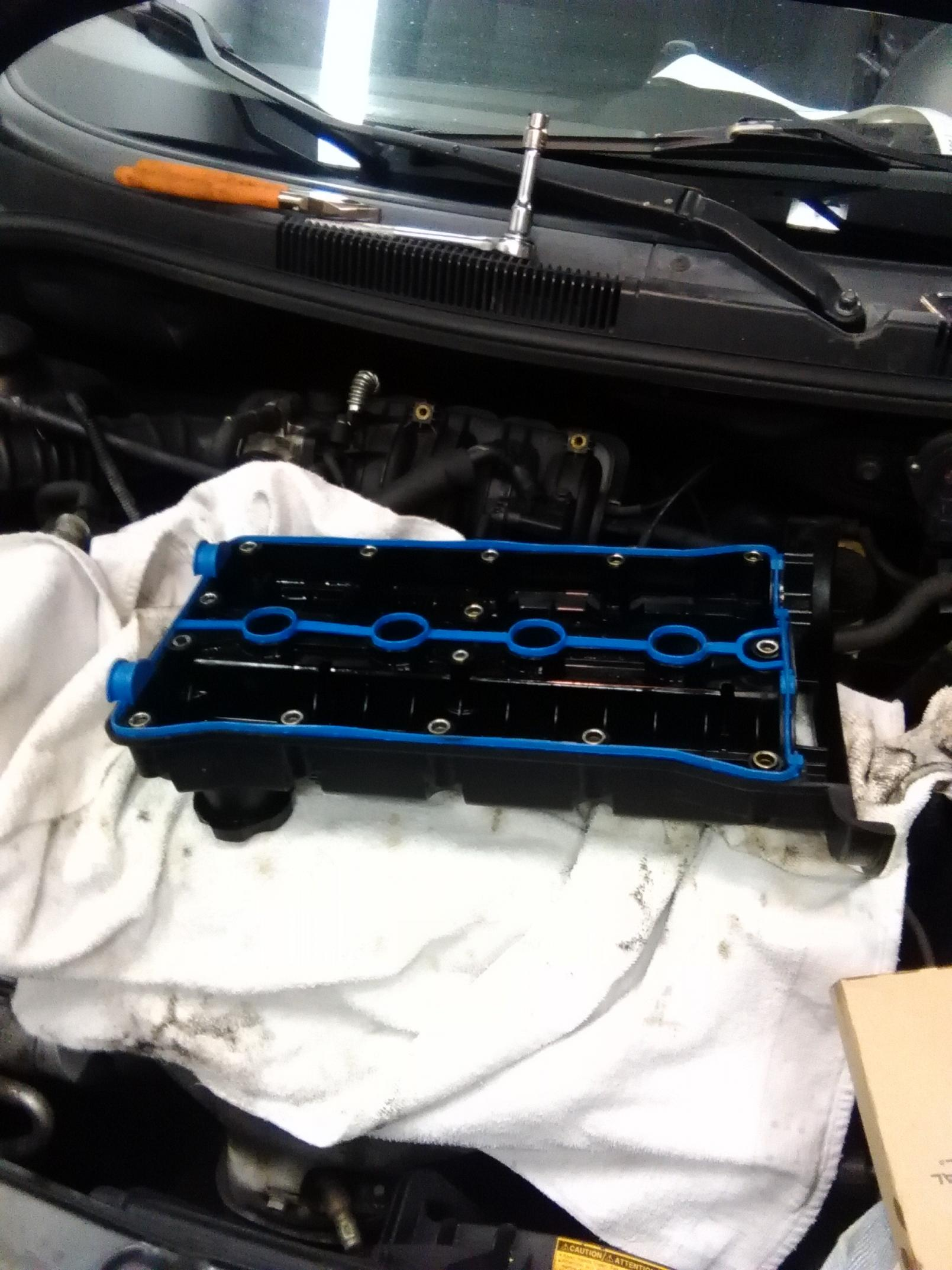 Replaced valve cover gasket 2007 Aveo5