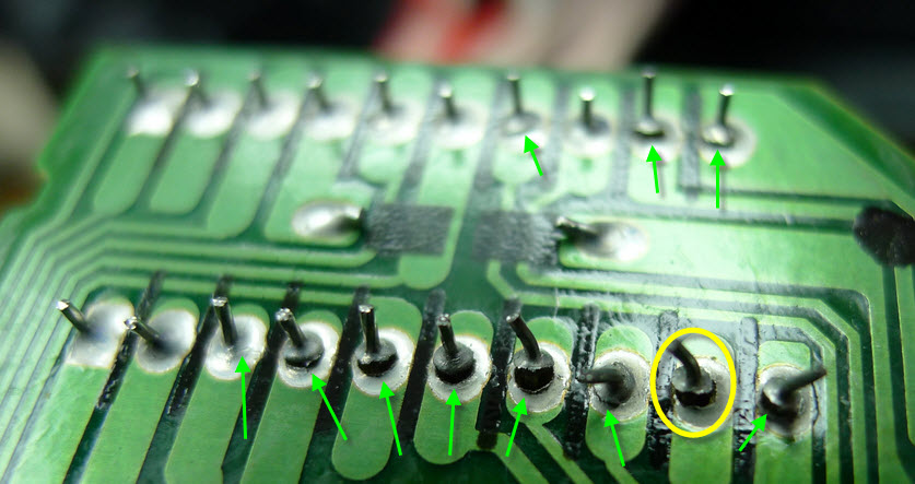 Name:  clock and lights PCB's broken solder joints.jpg