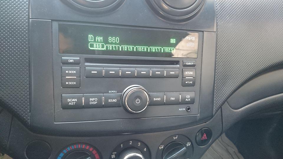 Radio Am Fm Tuning Problem