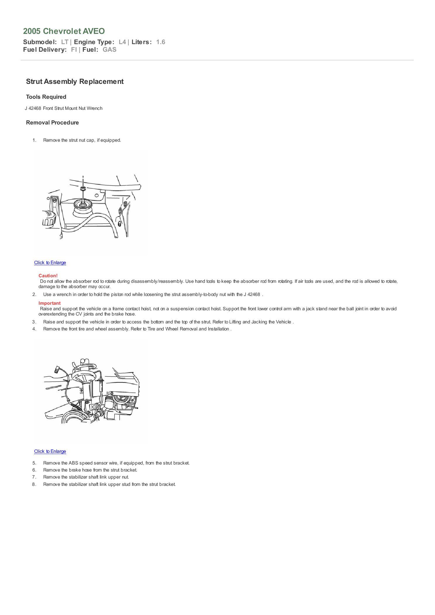 Chevy Aveo Strut Diagram Wiring Diagrams Data Base Radiator Replacing My Front Struts Rh Aveoforum Com On 2011 Recall List For Attachment