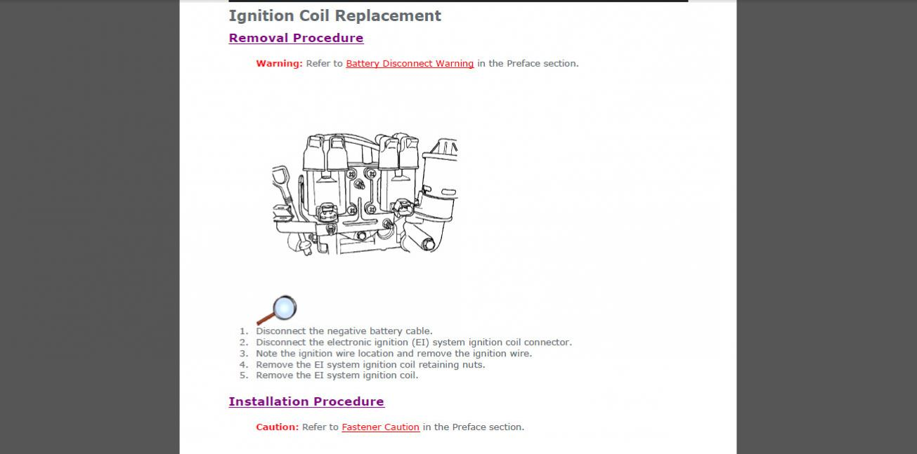 ignition coil pack replacement rh aveoforum com