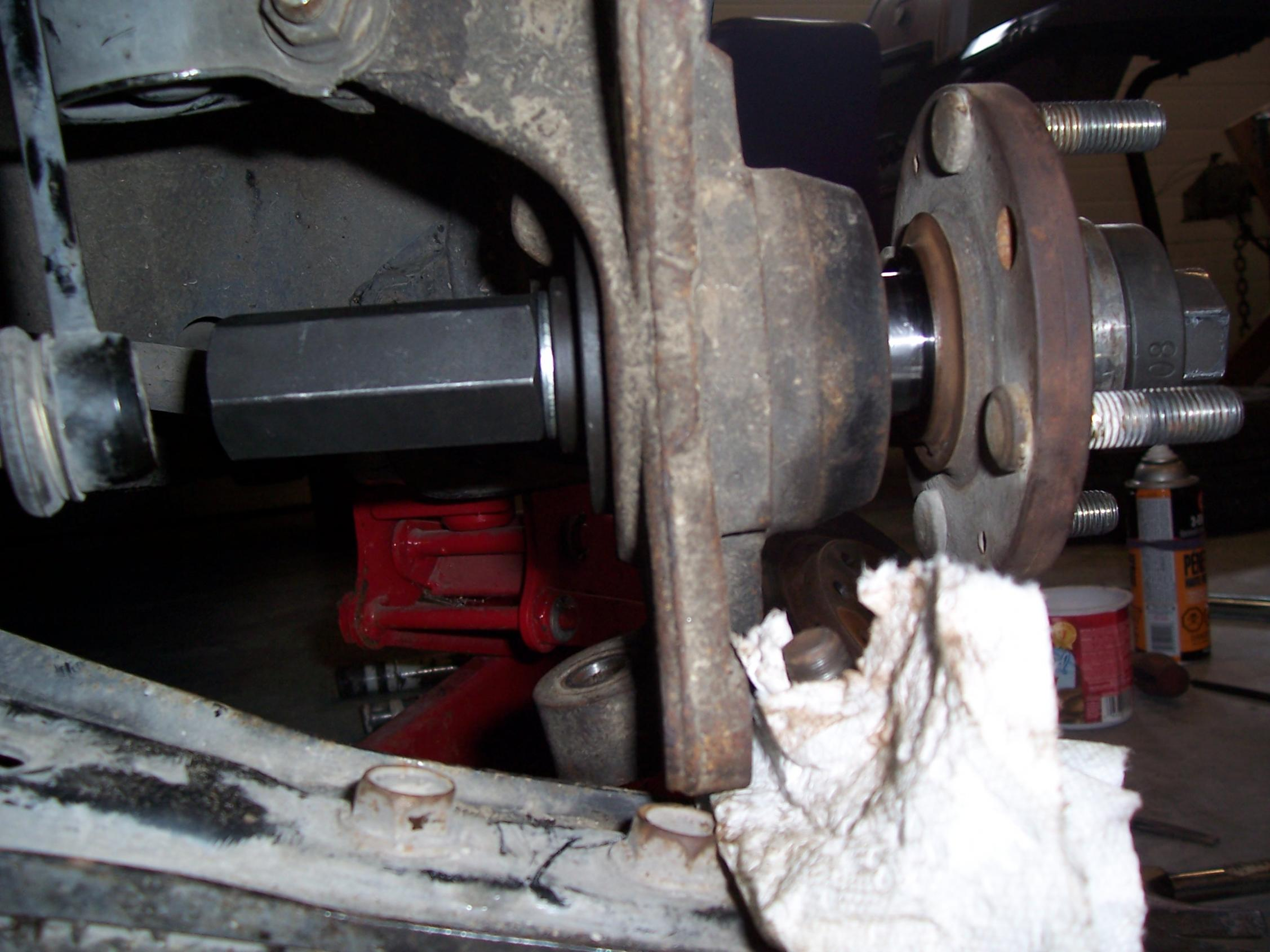 How To Replace A Front Wheel Bearing Without A Press Or Bridge