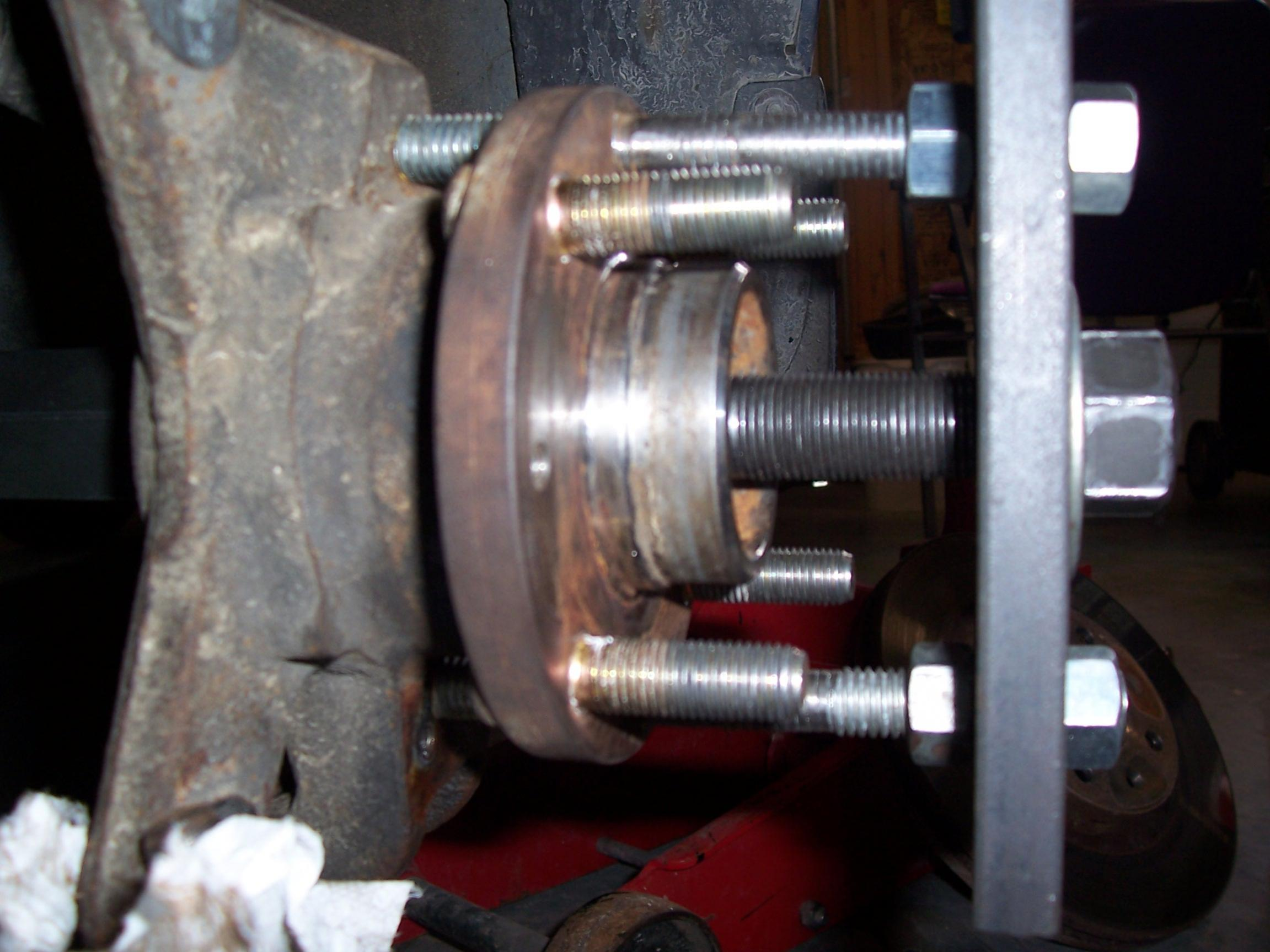 How To Replace A Front Wheel Bearing Without Press Or Bridge