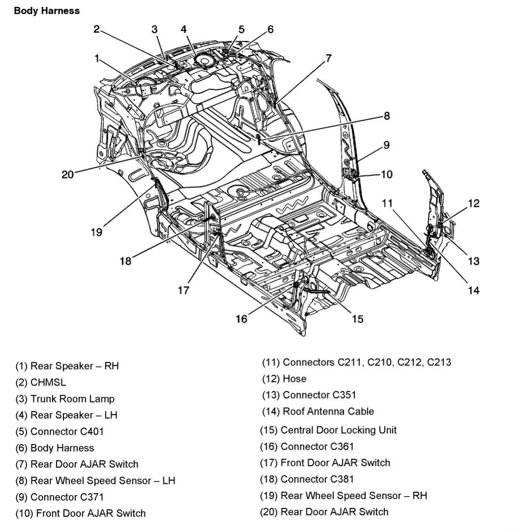 2005 aveo master connector list and diagrams rh aveoforum com 2004 Chevy Aveo Engine Diagram chevrolet aveo 2009 engine diagram