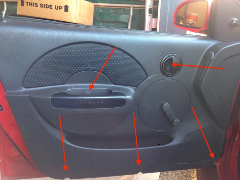 Diy Removing Door Panel 2006 Model
