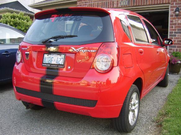 Red Max 2009 Chevrolet Aveo 5 Garage Entry