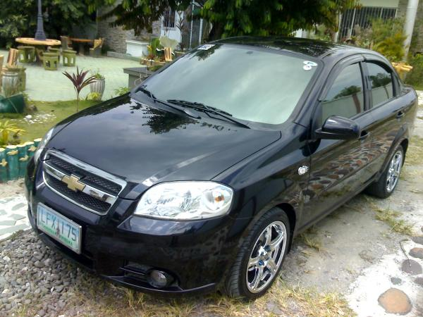 Ammsterz 2007 Chevrolet Aveo Sedan 14 Lt Garage Entry