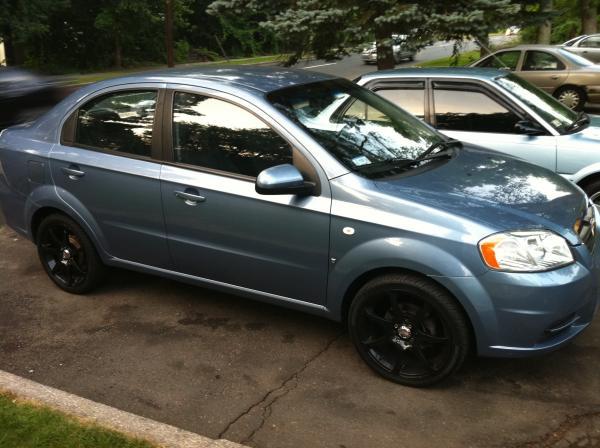 2007 chevrolet aveo ls sedan garage entry modifications wheel and tire publicscrutiny Images