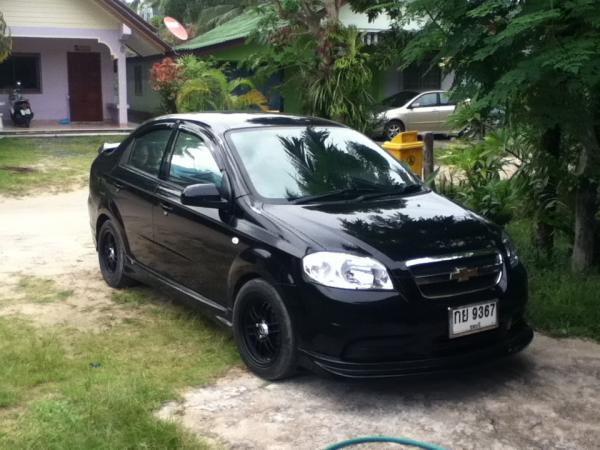Black Widow 2007 Chevrolet Aveo Sedan Right Hand Drive Manual 1 4