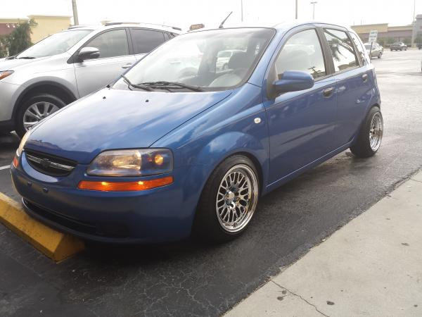 2005 Chevrolet aveo Garage entry