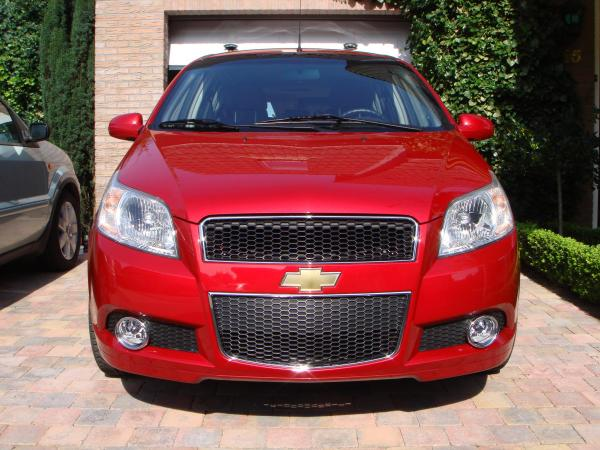 Red Chevy  2008 Chevrolet Aveo Garage entry