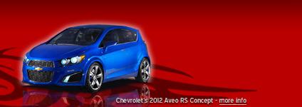 Chevrolet's 2012 Aveo RS Concept