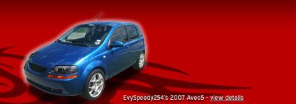 EvySpeedy254's 2007 Aveo5