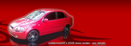 reddemonx92's 2005 Aveo sedan
