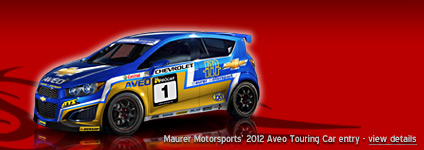 Maurer Motorsports' 2012 Aveo - FIA European Touring Car Cup