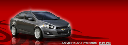Chevrolet's 2012 Aveo/Sonic sedan spy pics