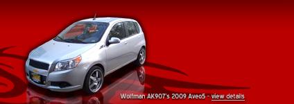 Wolfman AK907's 2009 Aveo5