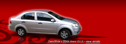 Dare2Ride's 2006 Aveo 1.5 LS